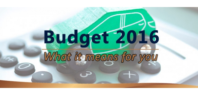 Budget 2016 Company Car Analysis