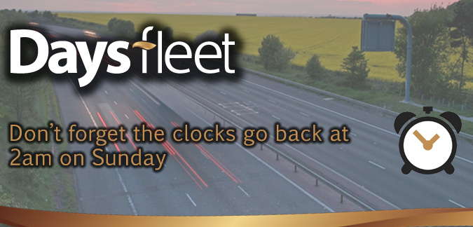 Driving when the clocks go back